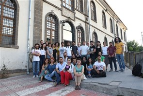 BAK: Revealing the City through Memory participants came together in Diyarbakır on 23-29 May 2015